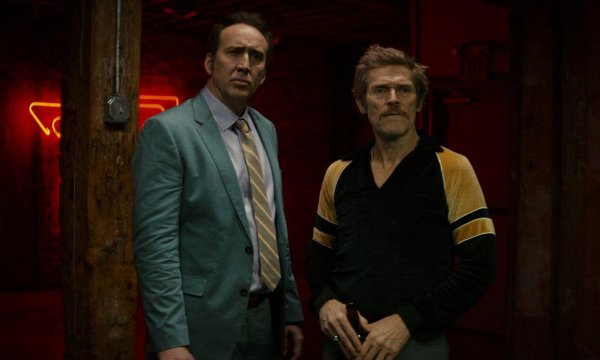 Dog Eat Dog movie - Nicolas Cage and Willem Dafoe