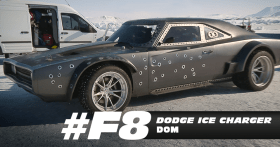 Dom's Dodge Ice Charger - Fast 8 movie