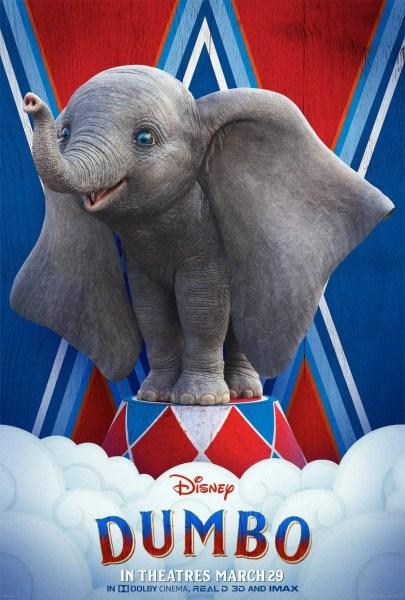 Dumbo Film Poster 2019