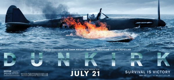 Dunkirk Plane On Fire