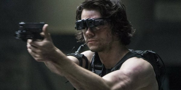 Dylan O'Brien in the movie American Assassin.