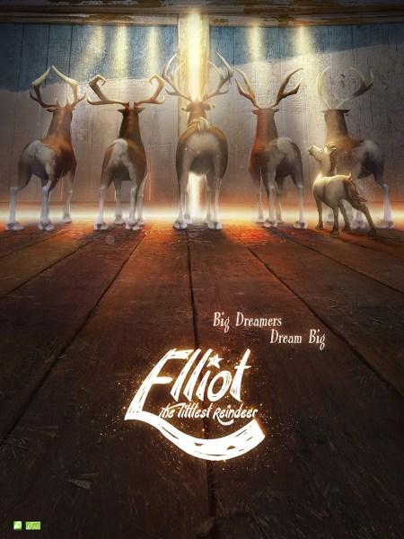 Elliot The Littlest Reindeer Movie Poster