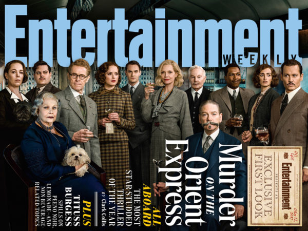 EW Murder On The Orient Express - Film cast