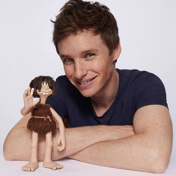Eddie Redmayne Early Man Movie