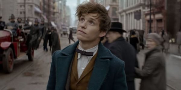 Eddie Redmayne - Fantastic Beasts Movie making of