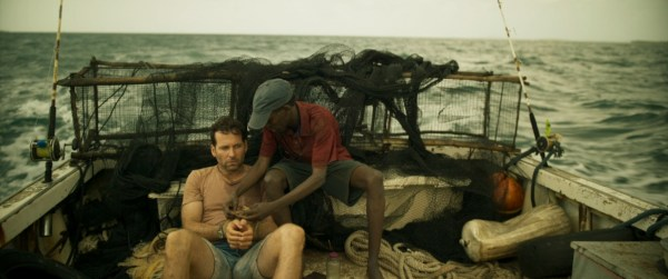 Eion Bailey and Barkhad Abdi - EXTORTION Movie