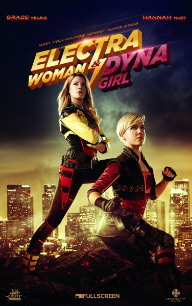 Electra Woman and Dyna Girl Movie Poster