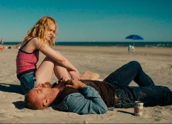 Elle Fanning and Ben Foster - Galveston Movie