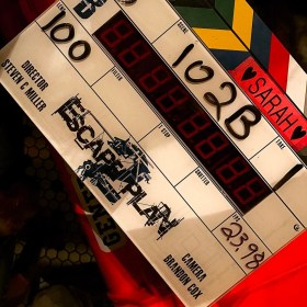 Escape Plan 2 - Film Clapperboard