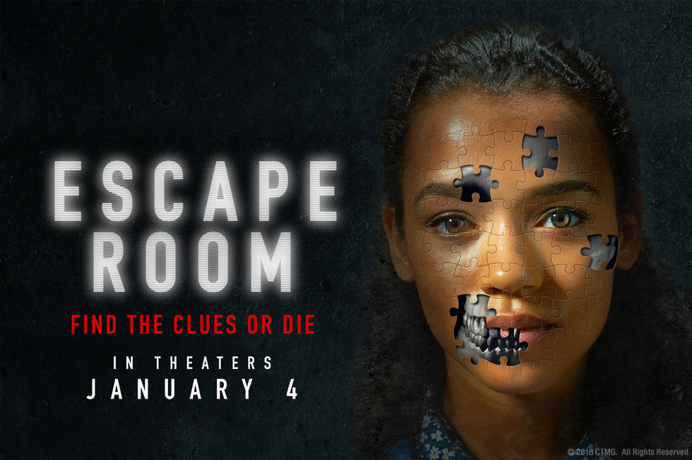 Image result for escape room 2019 poster