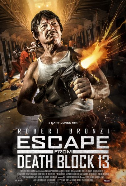 Escape From Death Block 13 Movie Poster