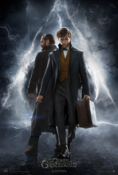 Fantastic Beasts The Crimes Of Grindelwald - Newt And Dumbledore