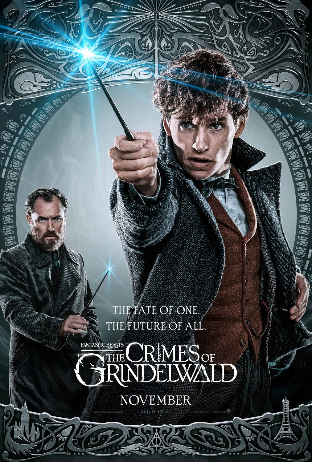 Fantastic Beasts: The Crimes of Grindelwald 2018 Hindi HDRip 720p HQ Line Audios – [Telugu + Tamil + Hindi + Eng(Org)