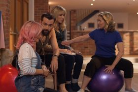 Faye Marsay, David Tennant, Lucy Punch And Sally Phillips – You, Me & Him