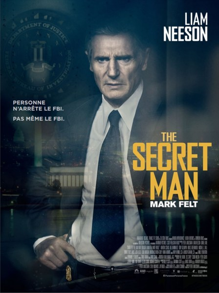 Felt French Poster - The Secret Man