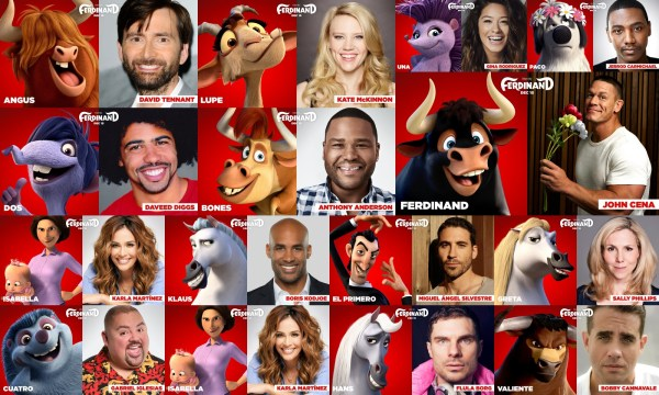 Ferdinand Voice Cast And Characters