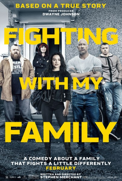 Fighting With My Family New Film Poster