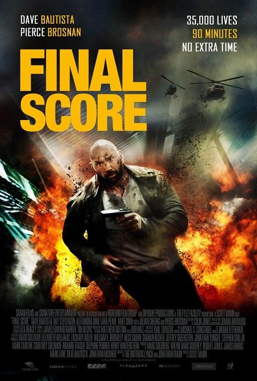 Resultado de imagem para final score Scott Mann poster