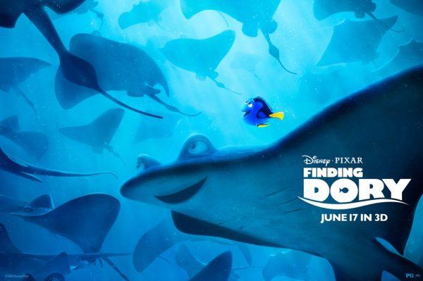Finding Dory 2016 Disney Pixar Movie