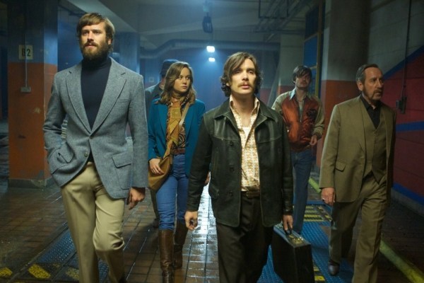 Free Fire Movie - Official picture - Armie Hammer, Enzo Cilenti, Brie Larson, Cillian Murphy, Sam-Riley, and Michael-Smiley