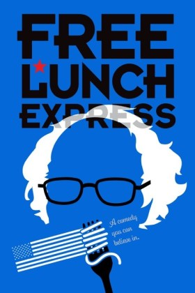 Free Lunch Express Movie Poster