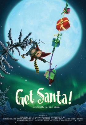 Get Santa Poster