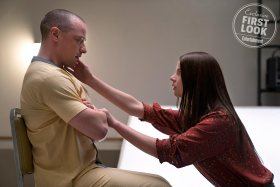 Glass movie - James McAvoy and Anya Taylor-Joy