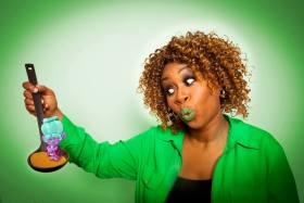 GloZell voices Grandma Rosiepuff in trolls