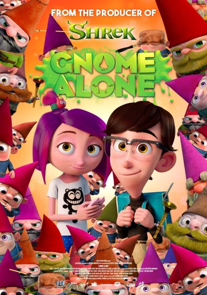 Gnome Alone International Poster