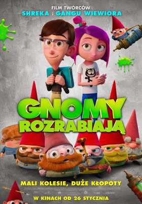 Gnome Alone Poland Poster