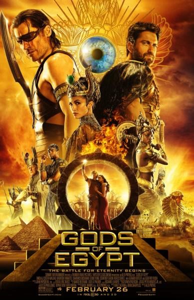 Gods of Egypt Fiery Poster