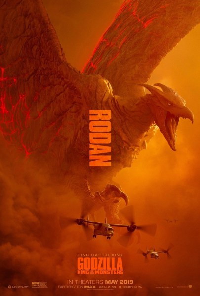 Godzilla King Of Monsters Rodan