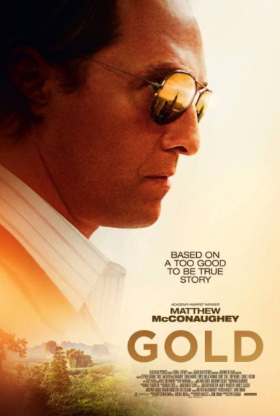 Gold movie - Golden shades Poster