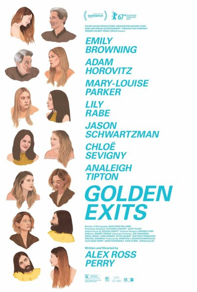 Golden Exits Movie Poster