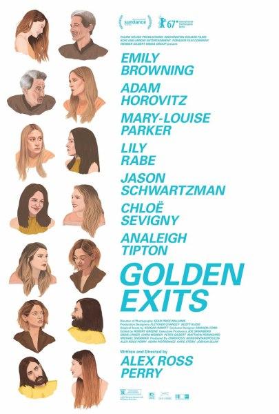 Golden Exits Movie Poster