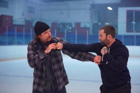 Goon 2 Movie - Liev Schreiber And Seann William Scott