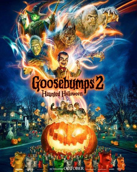 Goosebumps 2 New Poster