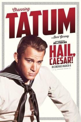 Hail Caesar Character Poster - Channing Tatum