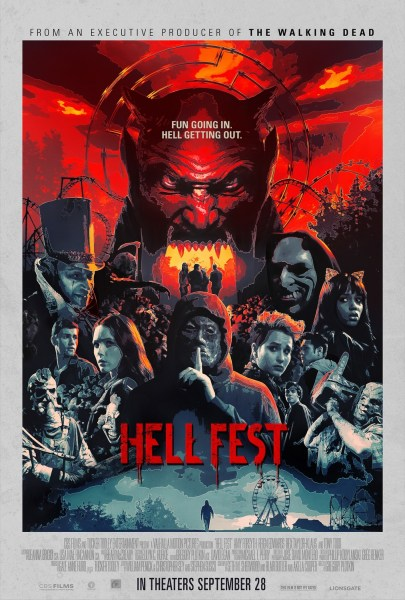 Hell Fest New Film Poster