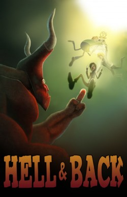 Hell and back early poster (1)