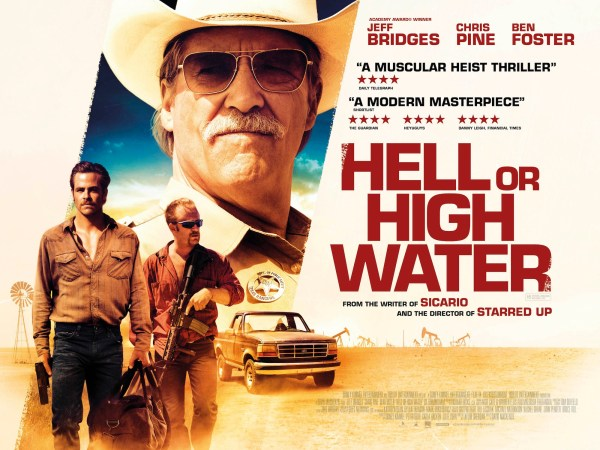 Hell or High Water UK Quad Poster