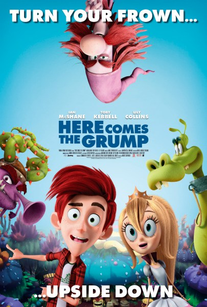 Here Comes The Grump New Film Poster