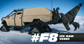 Hobbs' Ice Ram - Fast 8 Movie