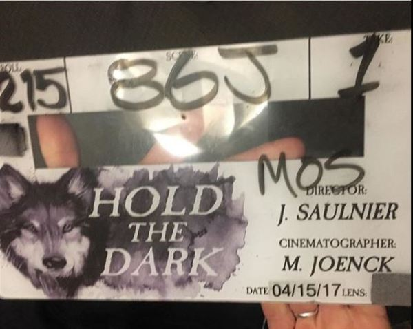 Hold The Dark Film Clapperboard