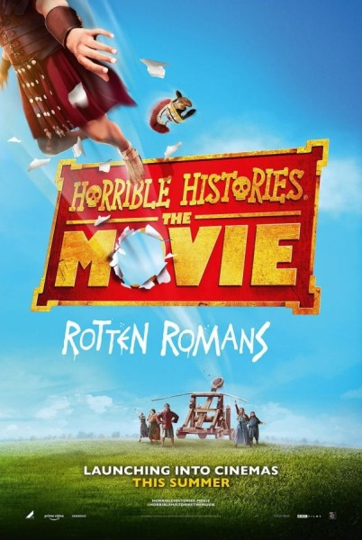 Horrible Histories The Movie Rotten Romans Movie Poster