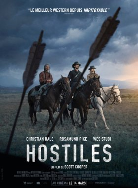Hostiles French Poster