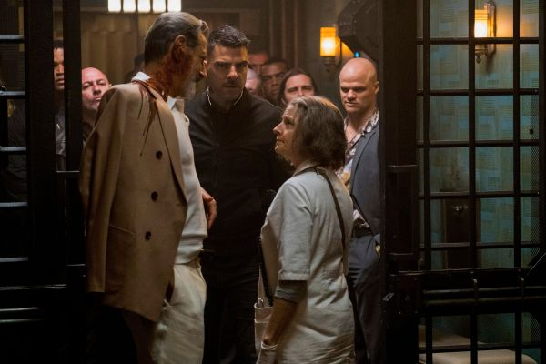 Hotel Artemis Movie - Jeff Goldblum, Jodie Foster, and Zachary Quinto