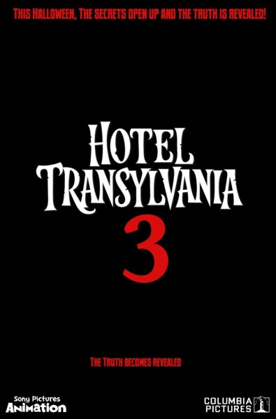 Hotel Transylvania 3 Movie Teaser Poster