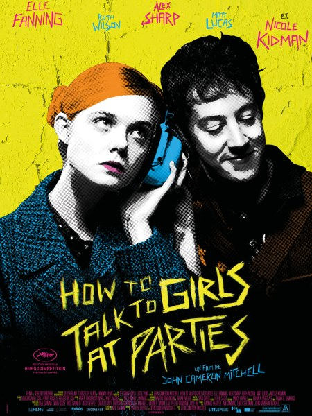 How To Talk To Girl At Parties French Poster