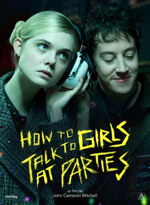 Resultado de imagen para how to talk to girls at parties poster